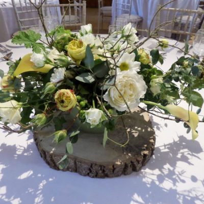 Autumn Wedding Flower Arrangement
