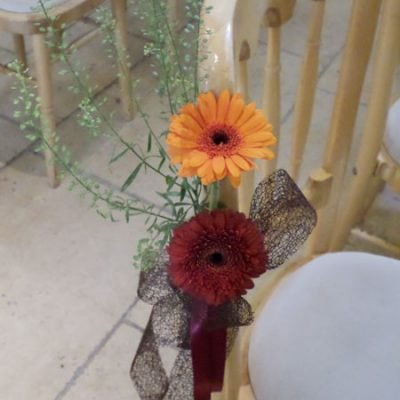 Autumn Wedding Flower Arrangement