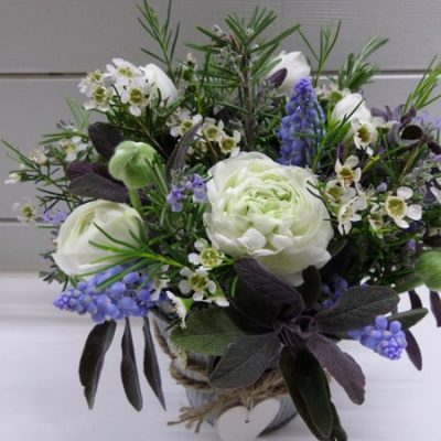 Blue Flower Arrangement