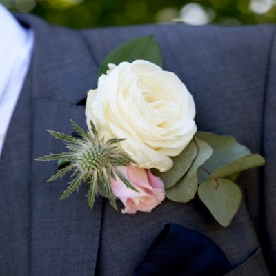Bespoke Wedding Buttonhole Arrangements