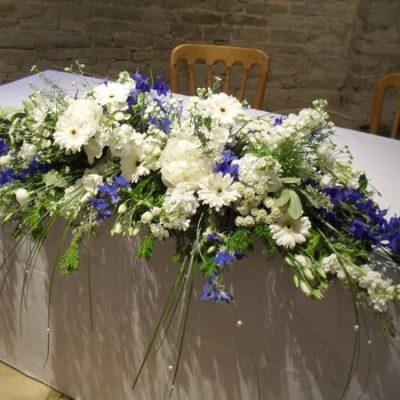 Blue Flower Arrangement