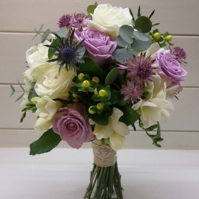 Lilac Wedding Flower Arrangement