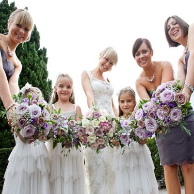 Lilac Wedding Bridal Bouquets